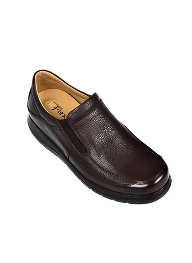 Dr.Flexer 815402 HakıkıDerıErkek Comfort Ayakkabı Kahve Kahve